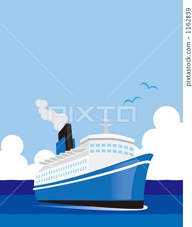 汽船 客船 船 1162839