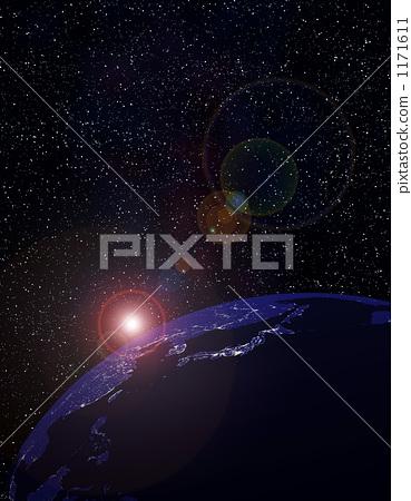 Night earth 1171611