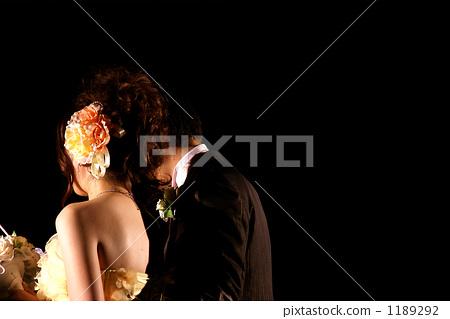 웨딩, 결혼식, 양장 1189292