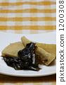 裙帶菜 燉 開水焯過的食物 1200308
