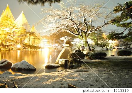 Kenrokuen Lighting Up 1215519