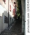 Behind the stone staircase 1243540