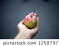 Having an apple 1258797