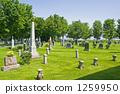 一个明亮的墓地 1259950