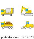 礦工 推土機 自動傾卸卡車 1267623