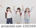 小學生 小學學生 少女 1282068