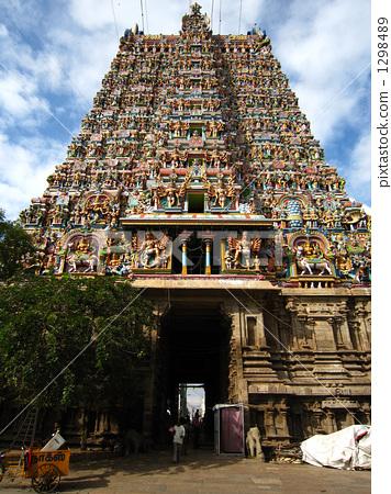 남부 인도 미나쿠시 사원 1298489