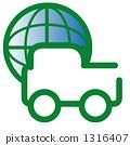 徽標生態汽車 1316407