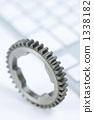 Gear and keyboard 1338182