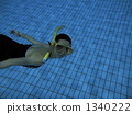 通气管 泳衣 泳装 1340222