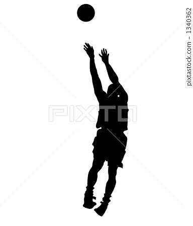 농구, 바스켓볼, 실루엣 1340362