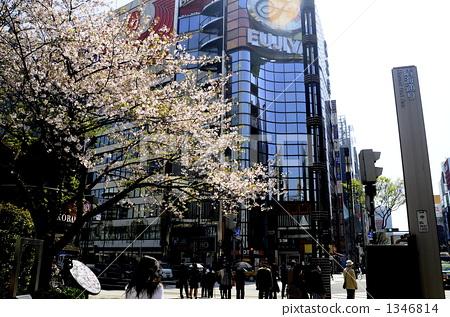 Ginza Arashimayabashi intersection 1346814