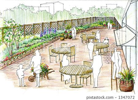Roof garden 1347072
