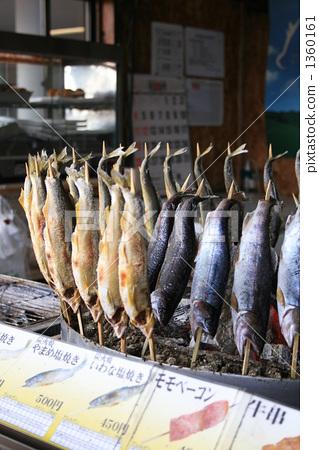 櫻花鉤吻鮭 烤肉串 串烤 1360161