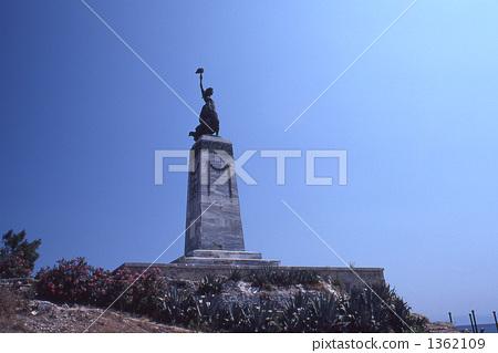 米特里尼勝利的雕像 1362109