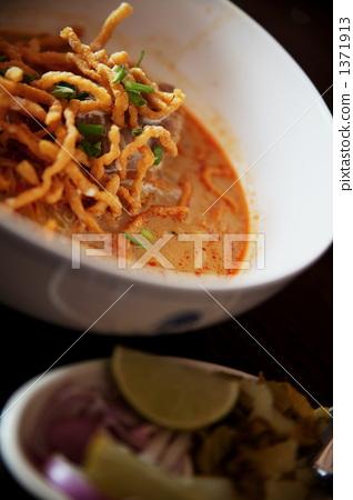 泰国菜 面条 清迈 1371913