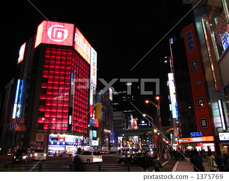 Akihabara at night 1375769