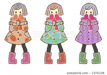 Girls illustration 1376108