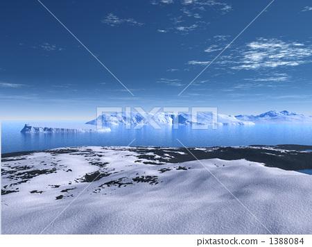 Antarctic blue sky 1388084