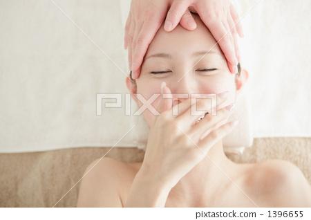 얼굴 마사지, 미용, 에스테틱 1396655