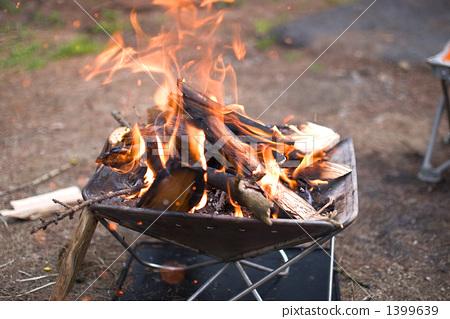 Bonfire in daytime 1399639