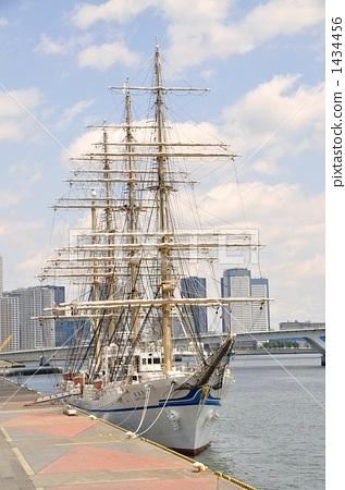 Nippon Maru moored at Harumi Front 1434456