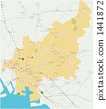지도, 후나바시 시, 후나바시 1441872