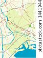 이치카와 시, 지도, 맵 1441944