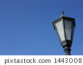 Sky image with street lights (sideways 1) 1443008