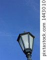 Sky image with street light (vertical) 1443010