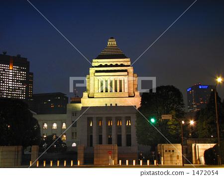 Night parliament building 1472054