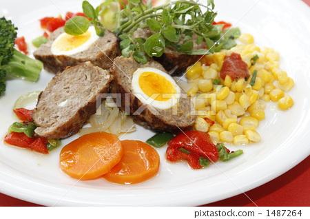 Hamburger cooking 1487264