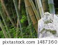 竹林と石仏 1487360
