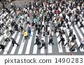 人行道上满是人行道 1490283