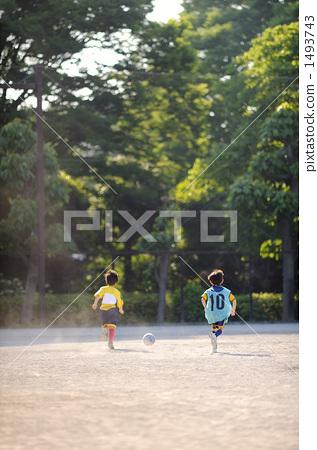 축구 연습 1493743