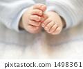 Baby's foot 1498361