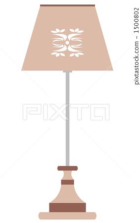 테이블 램프 (차계 색) 1500802