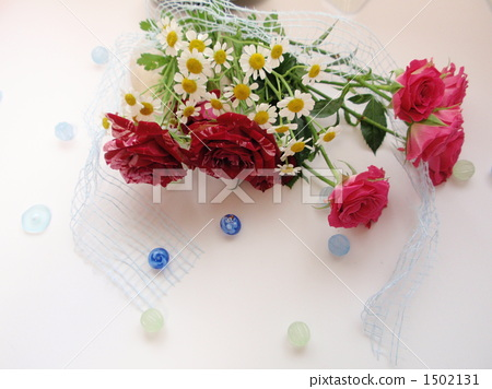 장미 꽃다발 1502131
