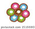 甜甜圈花 1516680