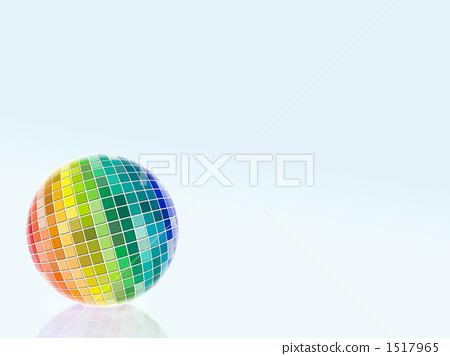 Vivid color sphere 1517965
