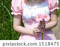 Maid with Gerbera 1518475