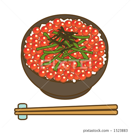 Ikura-rice bowl 1523883