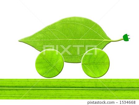 Leaf ecocar 1534668