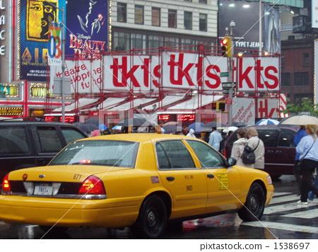 yellow cab, america, american 1538697