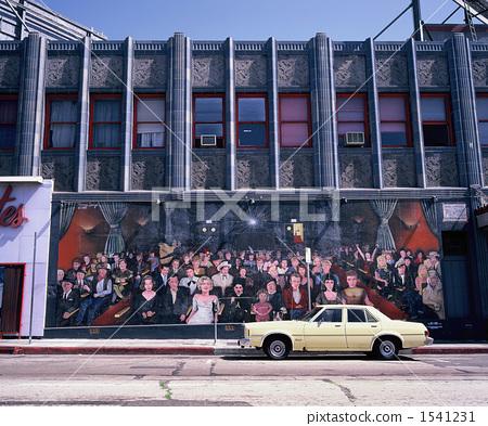 Stock Photo: mural, art, mural paintings