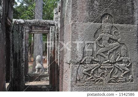 캄보디아 앙코르 유적 1542586