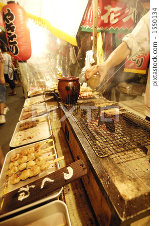 temple festival, stall, food stall 1550134