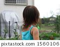 Girls blowing soap bubbles 1560106