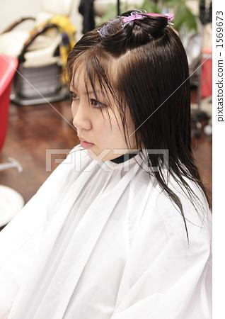 haircut, female, lady 1569673
