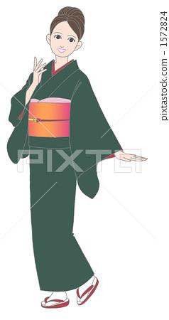 kimono, japanese clothes, female 1572824